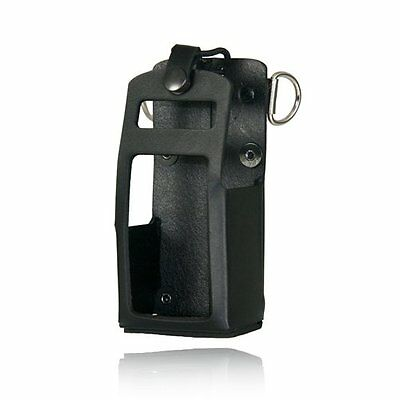 Boston Leather Tactical Pouches Radio Holder For Motorola 750/1250