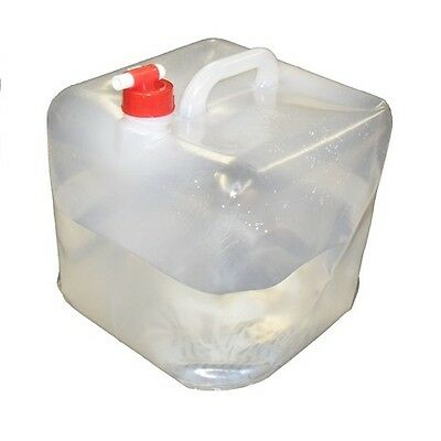 Strider Folding Water Carrier 15 Litres Lightweight BPA Free include on/off tap