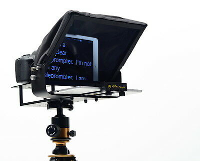 Glide Gear TMP 100 Tablet Smartphone Video Camera Teleprompter 70/30 Glass