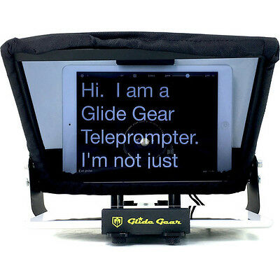 (R)Glide Gear TMP100 Universal Tablet Smartphone Camera Teleprompter 70/30 Glass