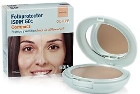 Isdin Fotoprotector Compact 50+ Bronce 10 g