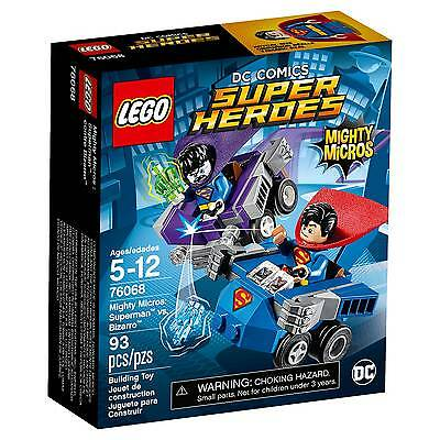 LEGO® Super Heroes Mighty Micros: Superman™ vs. Bizarro™ 76068