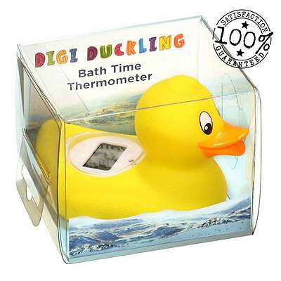 Digital Rubber Duck Baby Bath Water Thermometer Toy