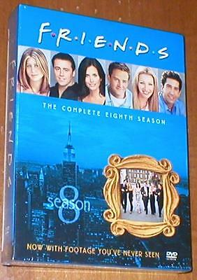 FRIENDS - The Complete Eighth Season - Deluxe 4-DVD Disc Set, Brand-New