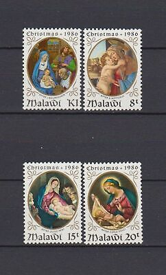 s16519) MALAWI MNH** 1985 Christmas paintings 4v