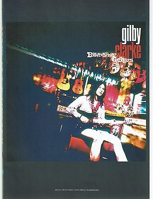Gilby Clarke Pawn Shop Guitars Japan Guitar Tab Tablature Song Book Band Score