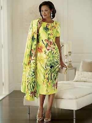 Tropical Jacket Dress by Ashro wedding church party special event new