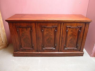 ANTIQUE 19thc VICTORIAN FLAMED MAHOGANY GILLOW'S DESIGN SIDEBOARD SERVER BUFFET