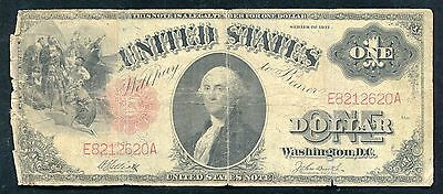 Fr. 37 1917 $1 One Dollar Legal Tender United States Note