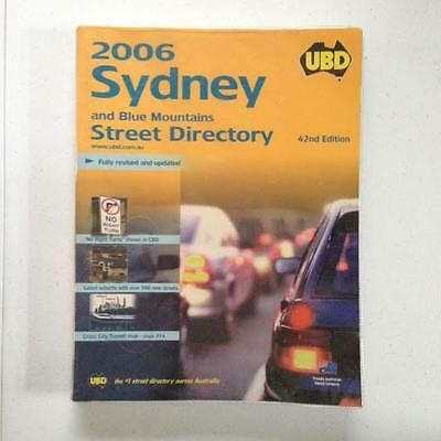 Ubd Street Directory: New South Wales -  Sydney: 2006 by Universal Publishers