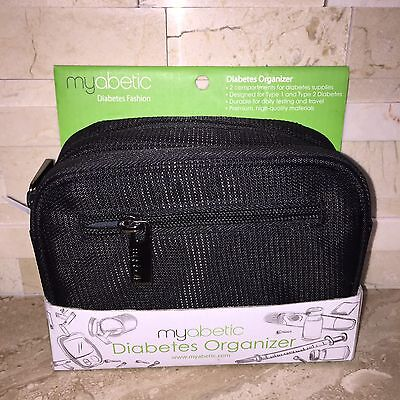 Myabetic Diabetes Fashion Organizer Black