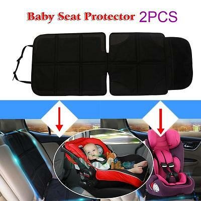 2X Car Auto Seat Protector Mat Car Seat Cover Infant Baby Kids Anti Slip Cushion