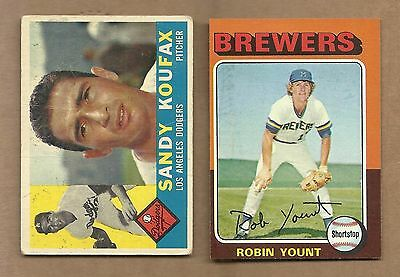 1975  Topps  Robin  Yount  Rookie  #  223
