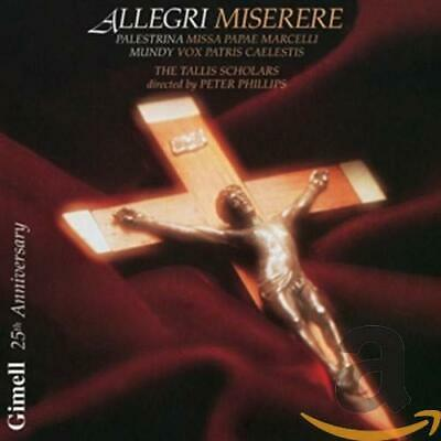 Allegri: Miserere -  CD AAVG The Cheap Fast Free Post The Cheap Fast Free Post