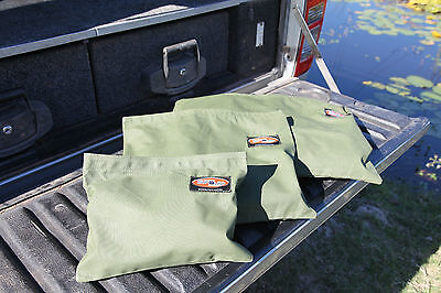General Purpose Canvas Storage Bags x 3.  Australian Made, Australian Canvas.