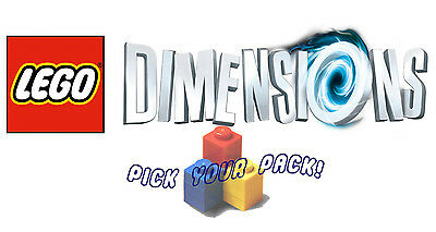 LEGO Dimensions - Level, Team and Fun Packs