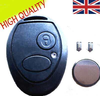 Land Rover Discovery 2 TD5 2 Button Remote Key Fob Case FULL Repair Kit UK