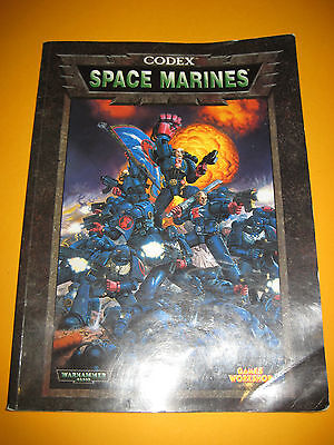Warhammer 40k - Codex - Space Marines