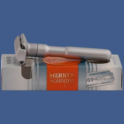 Merkur Of Solingen Futur DE Safety Razor Brushed Satin (90 700 002)