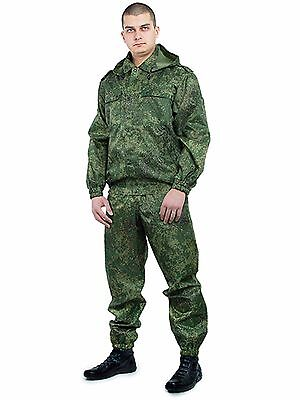 Russian camouflage VKBO Camo suit Russian digital flora wind moisture protection