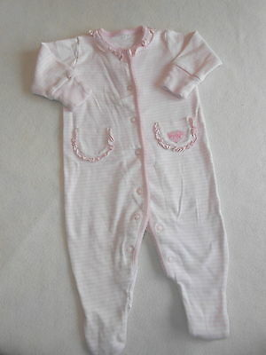 Girls Babygrows 0-3 Months - Pretty  Baby Grow Sleepsuit