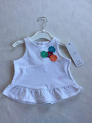Baby Girls Clothes Newborn - Cute T Shirt Top -New -