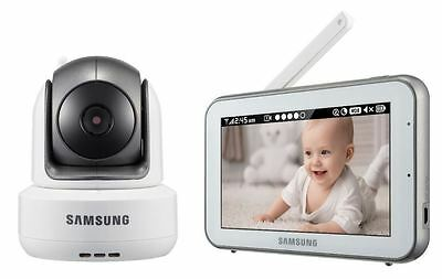 "Samsung SEW-3043W BrightVIEW Baby Monitor 5"" Touch Screen/PTZ (New Other) *OBO"