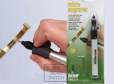 Beadsmith Cordless Micro Engraver Tool  ** Or **    Replacement Tip 2 Pk.