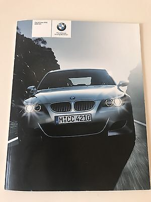 BMW 2006 M5 Manufacturer's Brochure 54 Pages.