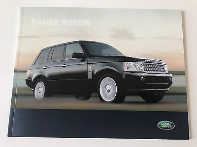 Land Rover Range Rover HSE Brochure 2007 40 Pages New Condition