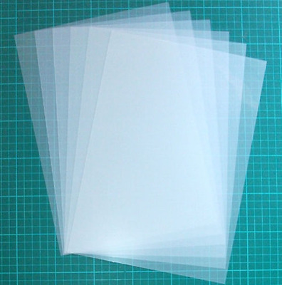 5 X A4 Or 10 X A5 Size Mylar Stencil Sheet 125 Micron - Very Good Price