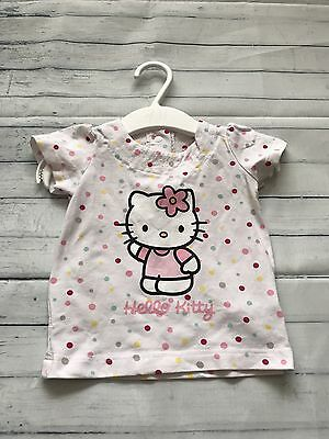 Baby Girls Clothes 0-3 Months -  Pretty Hello Kitty T Shirt Top