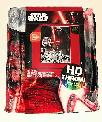 New Star Wars New Empire Force HD Superior Resolution Silk Touch Throw 46x60