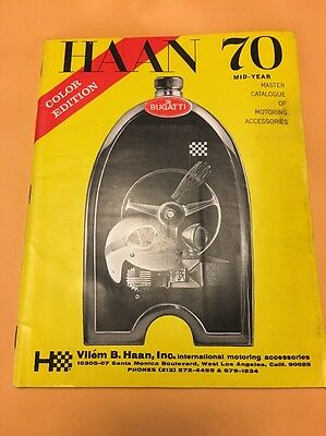 Haan 70 Color Ed. Master Catalogue of Motoring Accessories Vilem B. Haan Inc.