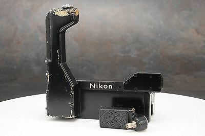 :Nikon F Cordless Battery Pack & Connector for F-36 F36 Motor Drive - Defective