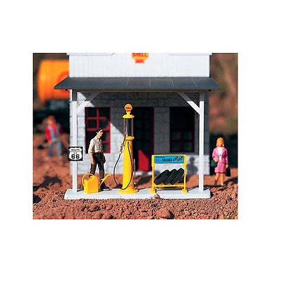 Piko G Scale Shell Gas Pump Accessories | Ships In 1 Business Day | Bn | 62284