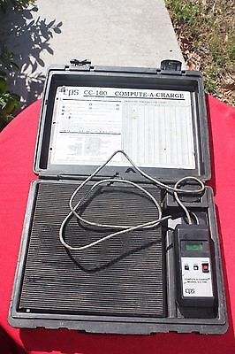 CPS Model CC-100 Compute a Charge Refrigerant Scale USED