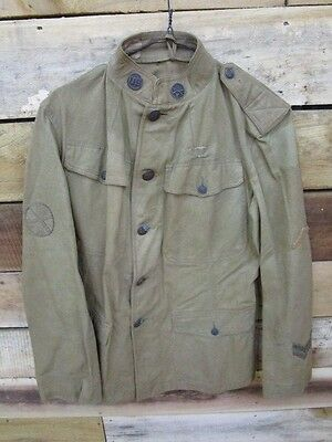WWI US Army Lightweight Jacket / Coat / Tunic ~ 82nd Infantry Division??