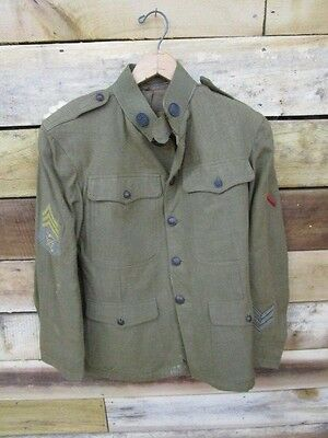 WWI US Army Sgts. Lightweight Jacket / Coat / Tunic