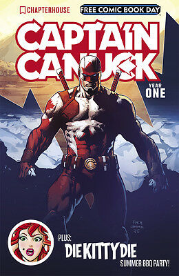 Free Comic Book Day 2017 - CAPTAIN CANUCK - UNSTAMPED FCBD
