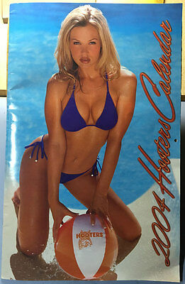 Hooters Girls 2004 Calendar 20th Anniversary Edition - Signed (see description)