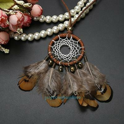 Dream Catcher Feather Car Home Wall Hanging Decoration Native American Indian