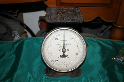 Antique Landers Frary & Clark 20LB Universal Family Scale-Country Decor-Conn.