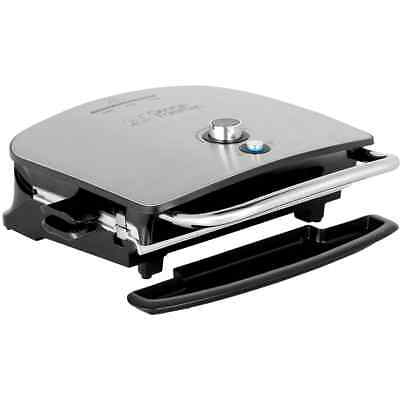 George Foreman 22160 Grill & Melt Advanced Health Grill with Removable Plates