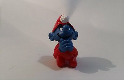 Rare Smurfs Figure - Christmas Praying Smurf. Toy Figure. 51910. Xmas
