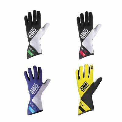 OMP KS-2 Gloves For Kart/Karting/Go Kart/Race/Racing/Track Day/Driving Gloves