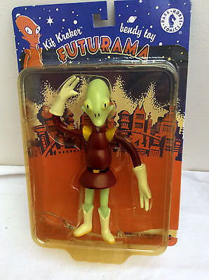 DARK HORSE COMICS FUTURAMA Bendy Toy - Kif Kroker      UNOPENED !
