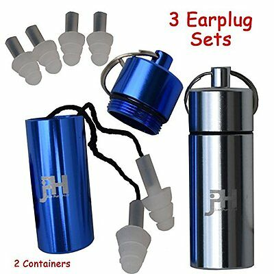 Ear Plugs - Best High Fidelity Noise Cancelling Silicone Protection Earplugs - I