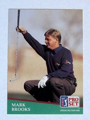 Pro Set 1991 Pga Tour Golf Card # 11. Mark Brooks