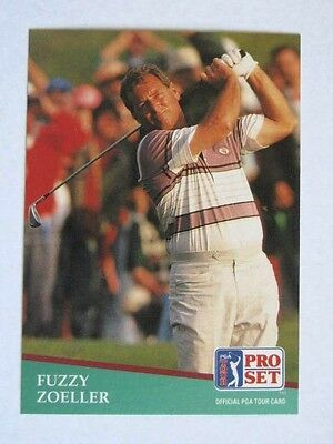 Pro Set 1991 Pga Tour Golf Card # 144. Fuzzy Zoeller